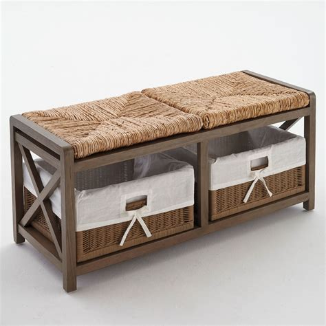 bench plus size asher mahogany 2 seat wicker bench plus size benches