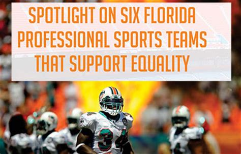 Mba In Sports In Florida by Spotlight On Six Florida Professional Sports Teams That