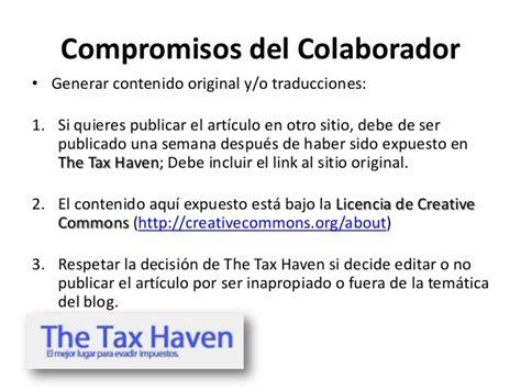 una decisin original gua 8490616094 gu 237 a del colaborador the tax haven