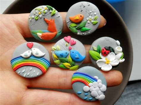 Sculpey Polymer Clay magnets fimo sculpey polymer clay fimo sculpey