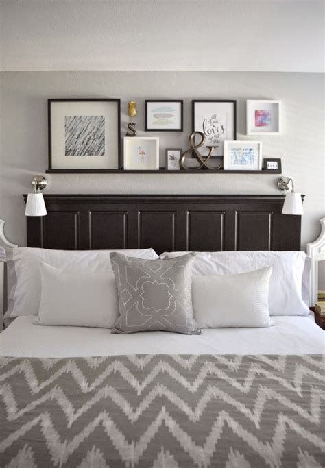 shelving ideas for bedrooms made2make home tour decorating pinterest turning over the and white walls