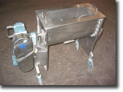 patterson industries ribbon paddle mixers