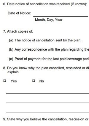 letter of indemnity grace period late payment cancel can t be reinstated 1399