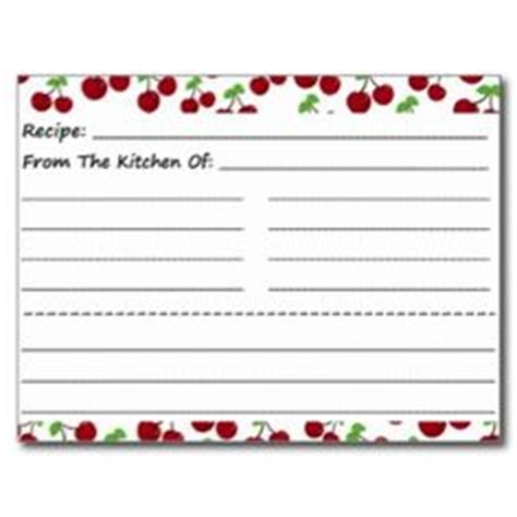 Access Recipe Card Template by 1000 Images About Recipe Binders And Printables On