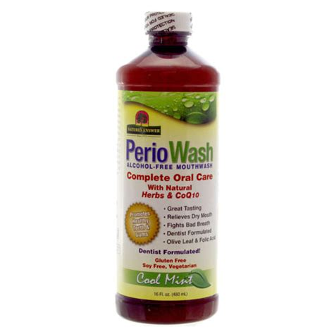 Detox Mouthwash Ultra Wash In Store Up by Periowash Mouthwash Free Cool Mint Nature S Answer