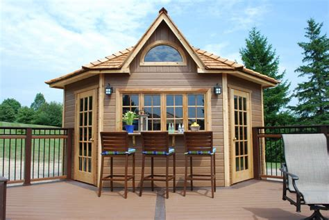 build a pool house backyard corner building summerstyle