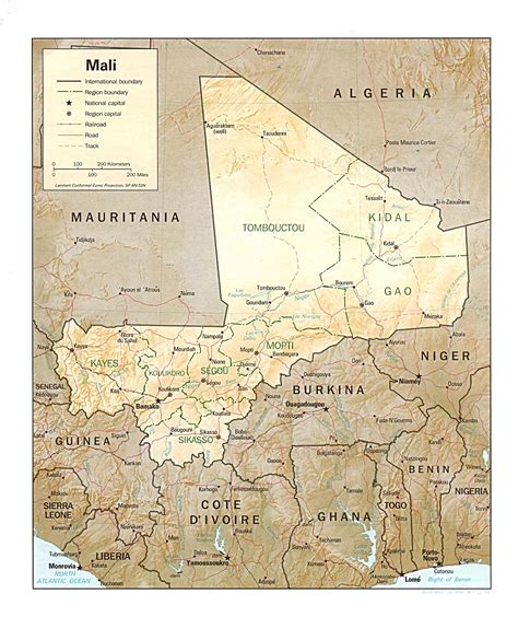 map of mali file mali map jpg