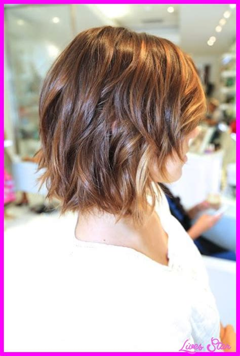 medium shorter in back hairstyles short to medium haircuts front and back hairstyles