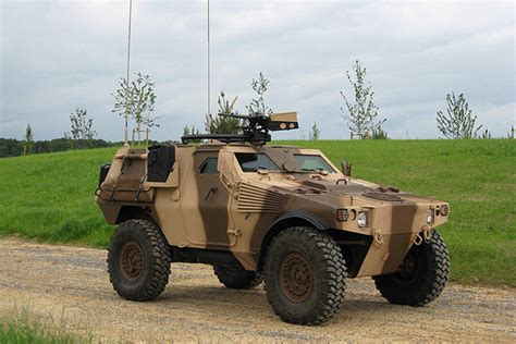 Panhard Vbl Light Armoured Vehicle Army Technology