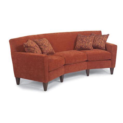 flexsteel 3966 323 digby conversation sofa discount
