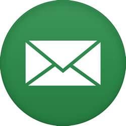 email icon email icon circle iconset martz90
