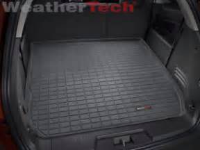 Cargo Liner For Chevy Traverse Weathertech Cargo Liner For Chevrolet Traverse Large