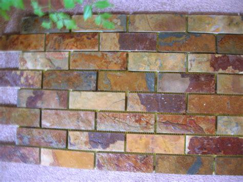 mosaic subway tile backsplash slate subway pattern mosaic tile kitchen backsplash