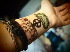 Mean Peace Sign Tattoo Designs Amp Symbols Meanings Picture » Ideas Home Design