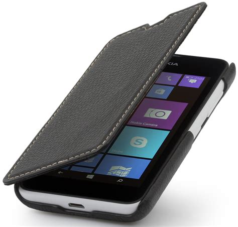 Cassing Nokia Type 3350 nokia lumia 530 book type made out of leather stilgut