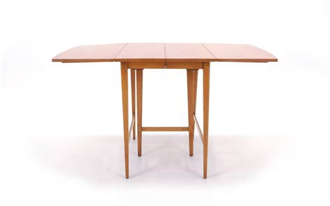 Paul Mccobb Expandable Drop Leaf Dining Table For Sale At Drop Leaf Dining Room Tables