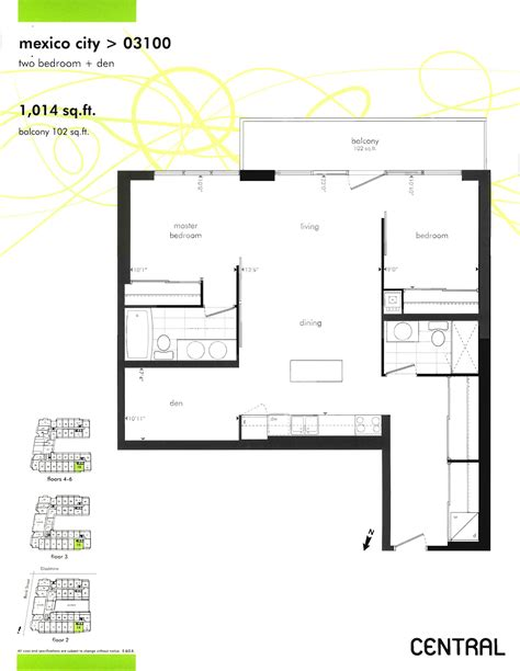 centralized floor plan central ottawa floor plans