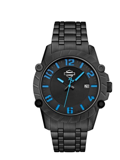 Harley Davidson Bulova Blk White celebrate the 4th of july with 4 made in america