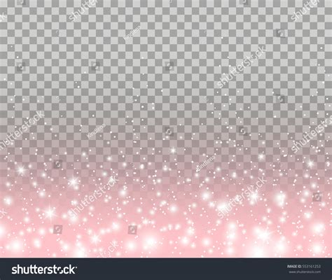 Nice Christmas Light Frames #2: Stock-vector-pink-glitter-particles-and-glowing-lights-effect-for-luxury-greeting-rich-card-design-vector-star-553161253.jpg