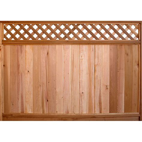 5 Foot Trellis Panels Shop Severe Weather Actual 5 7 Ft X 8 Ft Western