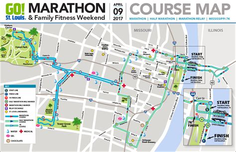 boston marathon route map 2019 go st louis marathon st louis missouri half