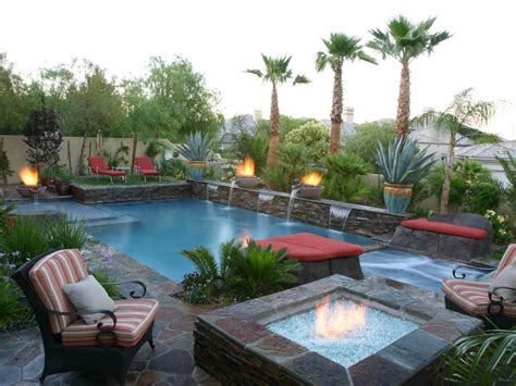 Feng Shui Patio by Pool And Patio Adheres To Feng Shui Hgtv The
