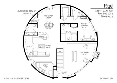 dome home floor plans dome home floor plans floor plan dl 5018 monolithic