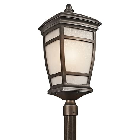 Transitional Outdoor Lighting Kichler Lighting 49275rz Mcadams Transitional Outdoor Post Lantern Kch 49275rz