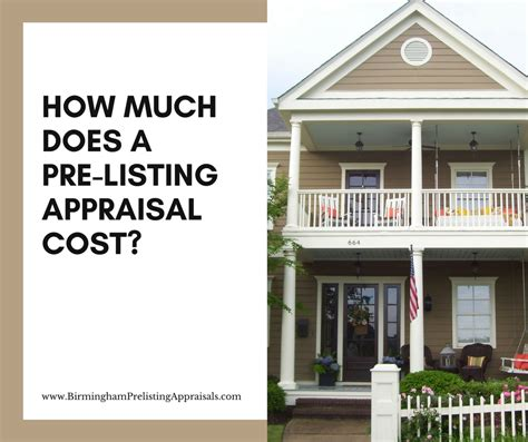 how much does a home appraisal cost 28 images
