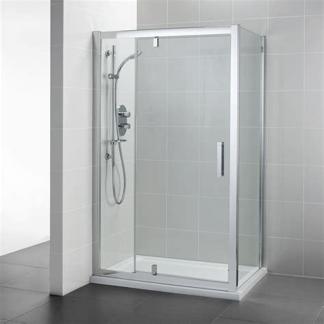 1200 Pivot Shower Door Synergy Pivot 1200 Corner Door Corner Shower Enclosures Bluebook