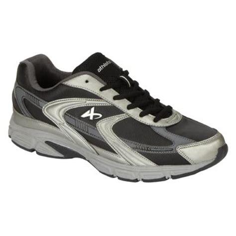 kmart mens athletic shoes s l espy black wide width running shoe get in shape