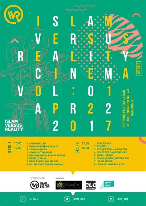 assalamu alaikum warahmatullahi wabarakatuh jika ada islam versus reality cinema vol 1 infoscreening