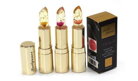 Lipstik Secret kailijumei secret jelly flower enchanted lipstick limited edition gold casing kailijumei