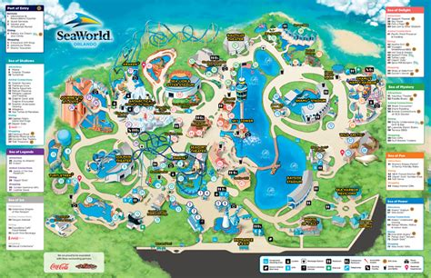 Where To Buy Sea World Gift Cards - seaworld park map seaworld orlando