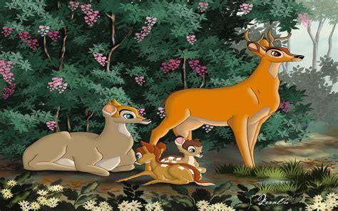 family na bambii cartoon images desktop wallpaper hd