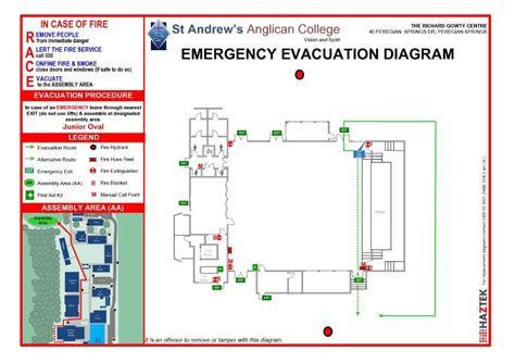 evacuation diagram requirements evacuation route diagram wiring library