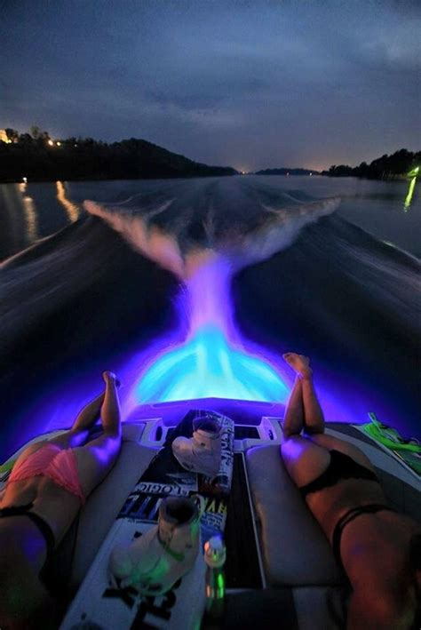 ski boat underwater lights led boat drain plug light bty 20 watt 1000 lumen
