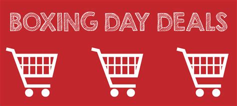2015 boxing day deals
