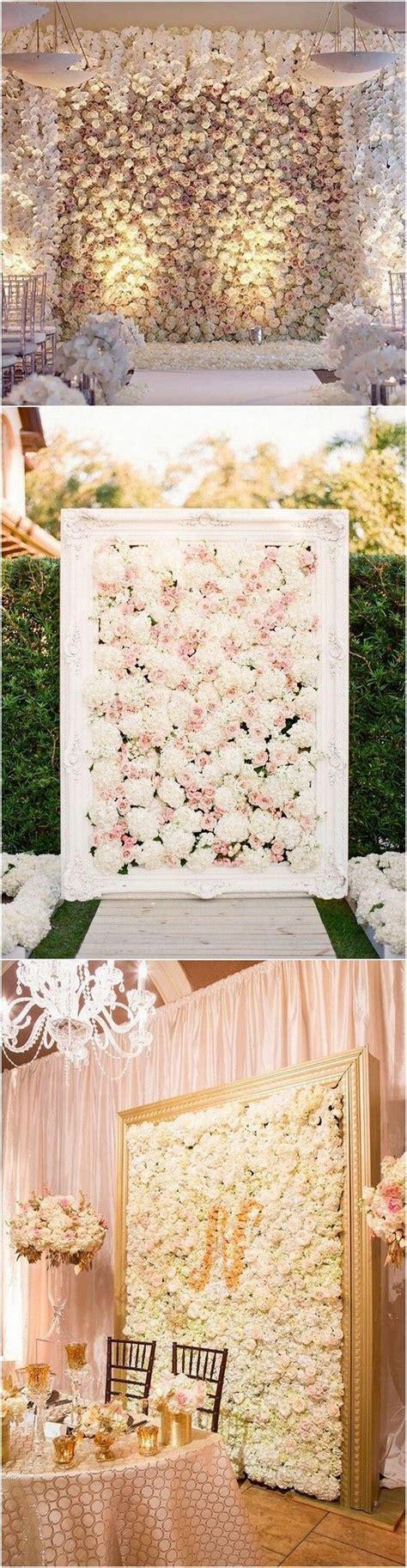 Best 25  Flower wall wedding ideas on Pinterest   Flower