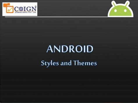 android themes styles exles android styles and themes