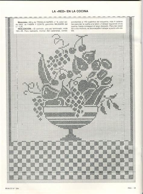 vasi di frutta tenda vaso frutta filet 2 magiedifilo it punto croce