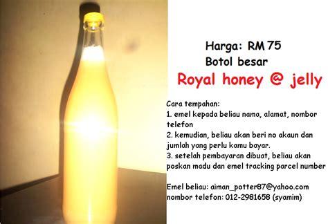 Murah Honey Jelly Original madu tulen yang murah dhiera zainudin