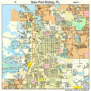 map of new port richey florida new port richey florida map 1248500