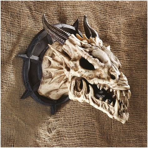 medieval dragon home decor medieval gothic dragon skull wall sculpture statue d 233 cor
