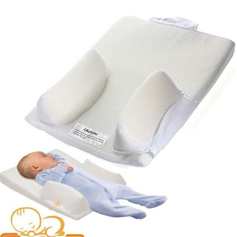 Baby Pillow Bed by Baby Infant Newborn Airflow Sleep Positioner Anti Roll