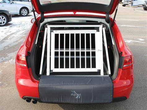 Hundebox Für Audi A4 Avant by N42 Hundetransportb Ox Hundebox Aluminium Transportbox