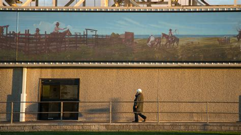 dodge city beef study national beef outdoor mural luminous neon