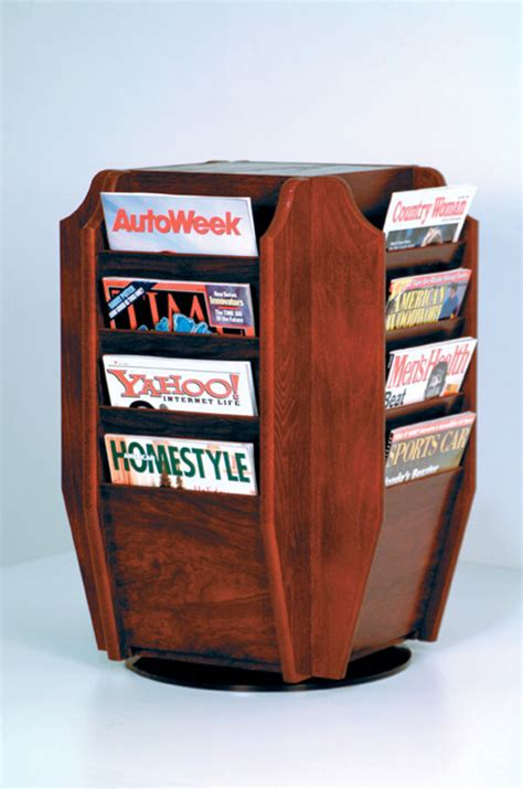 Rotating Magazine Rack by Magazine Rack Rotating In Floor Magazine Racks