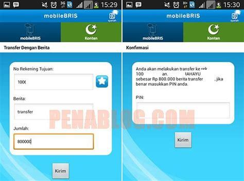 format transfer sms banking bni syariah bri syariah mudahnya transfer dengan aplikasi mobilebris