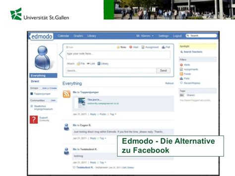 edmodo alternatives prof sabine seufert social media und web 2 0 als